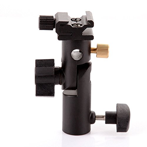 Aluminium E-Form Universal Reflexschirmhalter Blitzhalter Blitzneiger für Kamerablitz