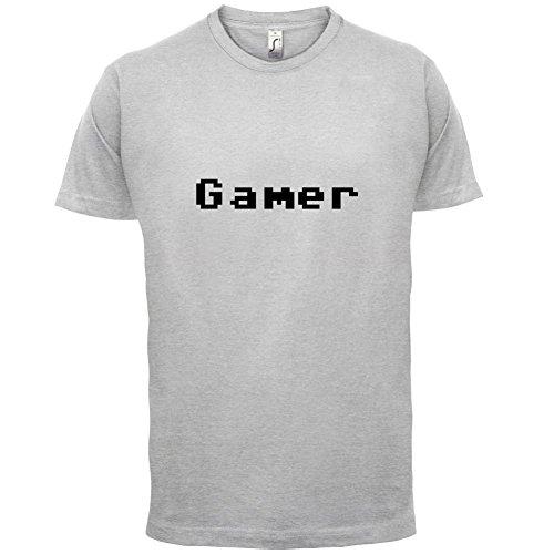 Gamer Pixels - Herren T-Shirt - 13 Farben Hellgrau