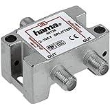 Hama Voll geschirmt SAT-Verteiler (2-fach) (Amazon Frustfreie Verpackung)