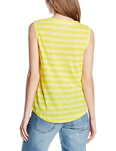 The Hip Tee Felton, sans Manches Femme jaune (SUN)