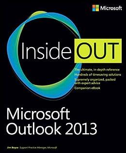 Microsoft Outlook 2013 Inside Out par [Boyce, Jim]