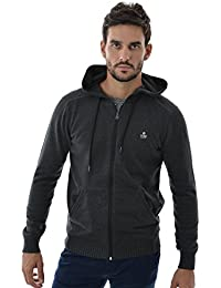 pull hiver Jack And Jones gavin hood knit exp core gris