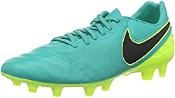 Nike Herren Tiempo Legacy II FG Fußballschuhe, Verde (Clear Jade/Black-Volt), 44 EU