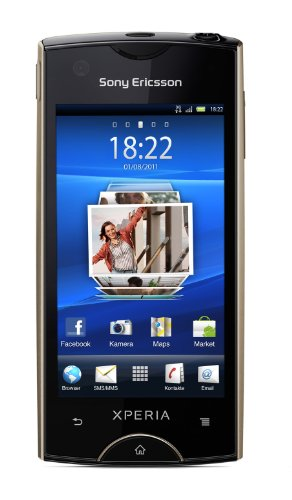 Sony Ericsson Xperia ray Smartphone (8,4 cm (3,3 Zoll) Display, Touchscreen, 8 megapixel Kamera, Android 2.3 OS) gold (Sony Android Ericsson)