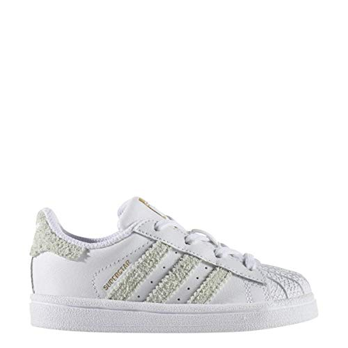 100% authentic d6071 b9ca2 adidas Superstar I Toddler Cq0707 Size 10