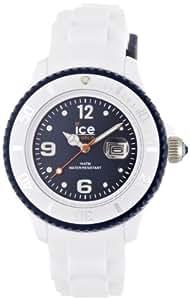 Ice-Watch Unisex-Armbanduhr ice-White Unisex weiß/blau Analog Quarz SI.WB.U.S.11