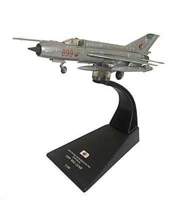 MiG-21 MF diecast 1:100 model (Amercom SL-17) von Amercom