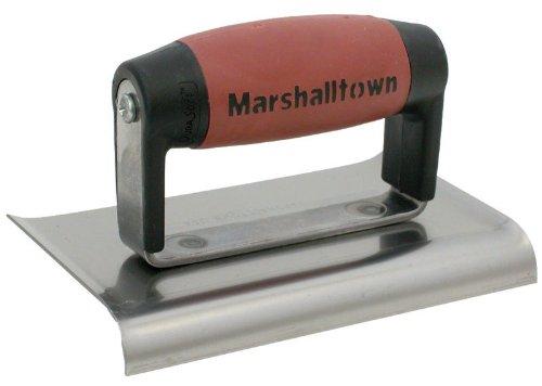 Marshalltown Maurerkelle 141466x 3Zoll edger-curved Enden; 3/8-radius, 1/2l-durasoft Griff–Menge 6