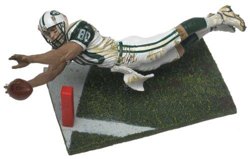 McFarlane Toys NFL Sports Picks Series 2 Action Figure Wayne Chrebet (New York Jets) White Jersey -