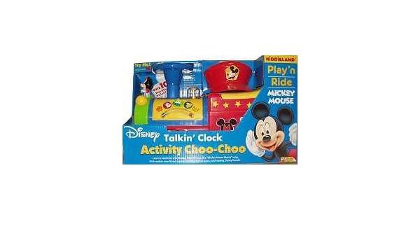 Disney Junior Mickey Mouse Activity Choo Choo Amazon Co Uk Toys