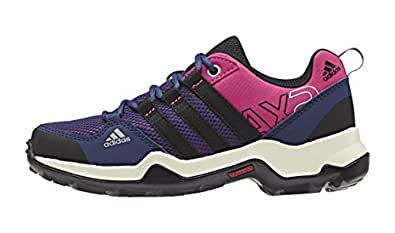 adidas Unisex-Kinder AX2 Trekking-& Wanderstiefel, Pink (Eqt Pink S16/Core Black/Raw Purple S16), 28 EU