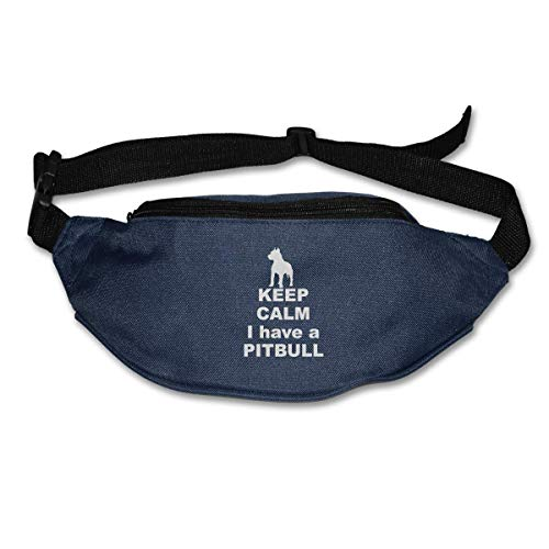 Waist Bag Fanny Pack I Have A Pitbull Pouch Running Belt Travel Pocket Outdoor Sports