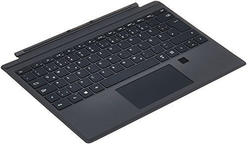 Microsoft RH7-00006 Surface Pro 4 Type Cover mit Fingerprint ID schwarz (QWERTZ)