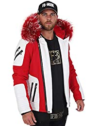 Amazon Fr Blouson Cuir Ventiuno Homme Vetements