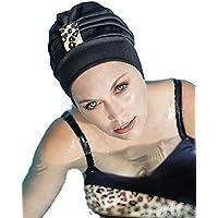 Vente Boutique En Ligne 100% Garanti Prix Pas Cher Fashy Bonnet® Film plastique Bonnet de bain femme avec intérieur et bandeau souple en silicone ygVpc5a6i