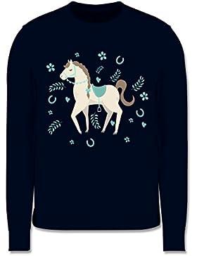 Tiermotive Kind - Süßes Pony - Kinder Pullover