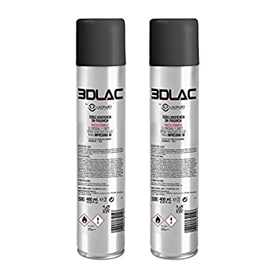 madridgadgetstore® Pack 2x 3dlac Design Polish Spray Kleber für 3d Drucker doppelte Griffigkeit Hohe Qualität Neue FORMULA ohne Duft