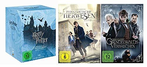 Harry Potter 1-7.2 Box + Phantastische Tierwesen Teil 1+2 [DVD Set]