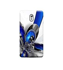 Ebby 3D Printed Back Case Cover For Lenovo Vibe P1M (Premium Designer Case)X119