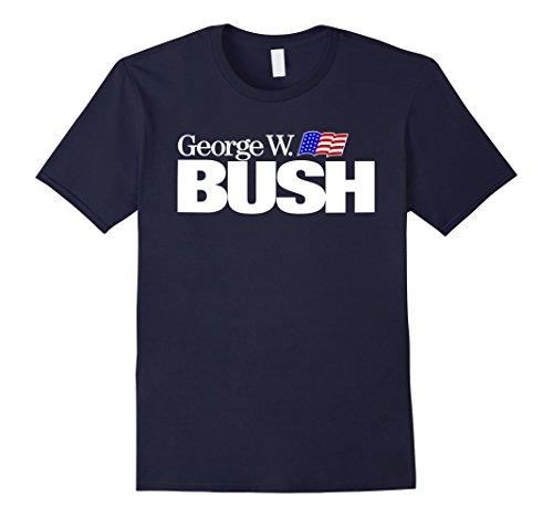 george-w-bush-for-president-vintage-logo-t-shirt-herren-grosse-xl-navy