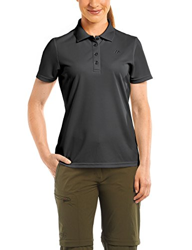 maier-sports-damen-poloshirt-ulrike-black-42-252303