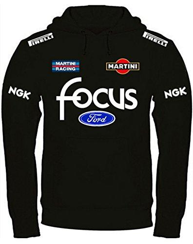 Sweatshirt Ford Focus Martini Racing Kapuzenpullover personalisierte (xl,  Schwarz) c9108be9abf5