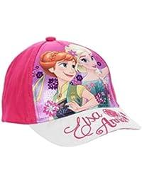 dc22e8d6ca6 La Reine des Neiges Casquette Enfant Fille Paillettes Violet et Rose de 3 à  9ans