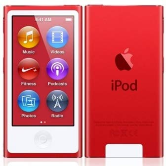 Apple, iPod Nano A1446, 16 GB, rot,