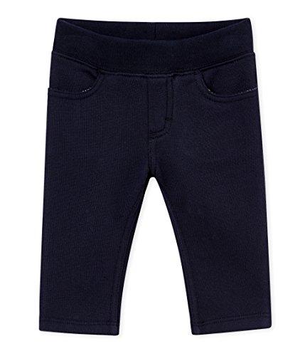 Petit Bateau Baby-Jungen Hose Pantalon Maille_4468203, Blau (Smoking 03), 92 (Herstellergröße: 24M/86cm)