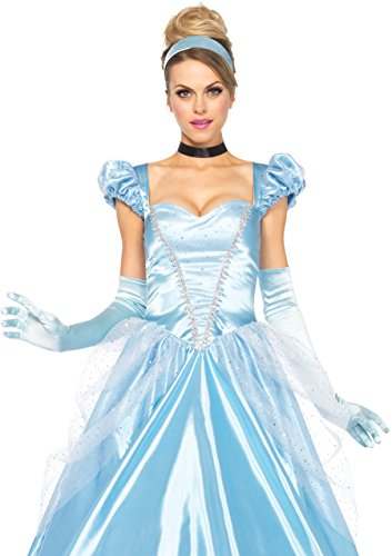 fasching kostueme damen maerchen Leg Avenue 85518 - 3Tl. Classic Cinderella Kostüm, Größe Small (EUR 36) Damen Karneval Kostüm Fasching