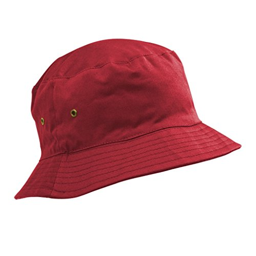Childrens Cotton Bucket Hat/Sun Cap Kids 5-11 Years Boys or Girls