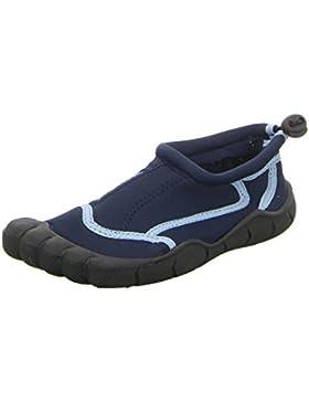 BOCKSTIEGEL® LANGEOOG Zapatos Aguamarina (28-35 Niños 2 Diseños Neopreno), Couleur:bleu;Taille:30