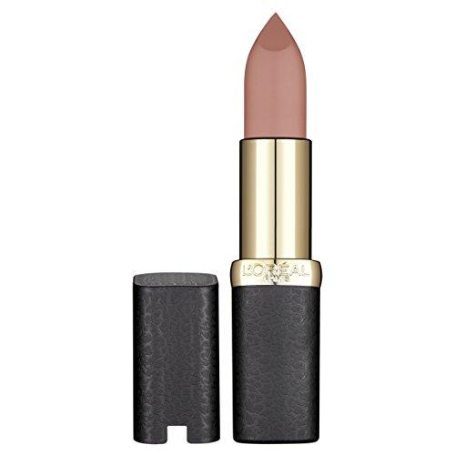 L'Oréal Paris Color Riche Matte in Nr. 633 Moka Chic, Lippenstift für ein intensives Matt-Finish, mit pflegendem Jojobaöl -