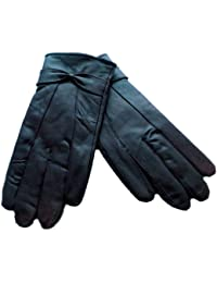 Ladies Black Leather Gloves Sizes S/M & M/L available