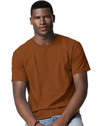hanes-t-shirt-homme-multicolore-texas-orange-m