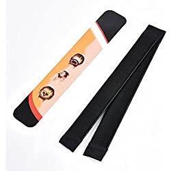 Daluci Hair Styling Donut Bun Maker French Twist Magic Tool For Women (Black)