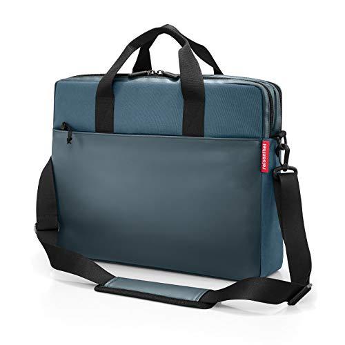 workbag 42,5 x 33 x 12 cm 13 Liter canvas blue (Business-overnighter)