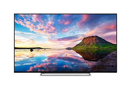 Toshiba 49U5863DB 49-Inch Smart 4K Ultra-HD HDR LED TV with Freeview Play - Black Silver  2018 Model