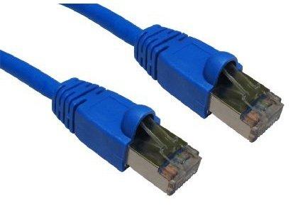 Rhinocables® , Hochgeschwindigkeits-CAT6-Ethernetkabel, geschützt Snagless-gestartet, schnelle Geschwindigkeit, RJ45-Patch, Network-Gigabit, LAN, Ethernet, FTP, 50 cm, 1 m, 2 m, 3 m, 5 m, 10 m, 15 m, 20 m blau blau 3 m -