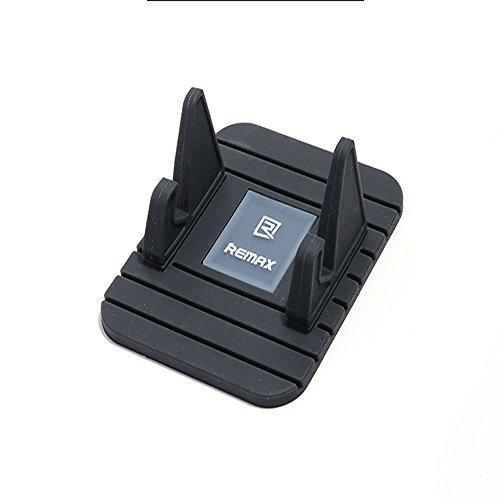 Universal KFZ Halterung SunnyJenny Rutschsicher Smartphone Handy Telefon Halter Gummi Auto Handyhalterung für iPhone, Samsung,Huawei. Remax Handy KFZ Halterung Adjustable DIY Anti-Slip Ständer Mit (Diy Handy)