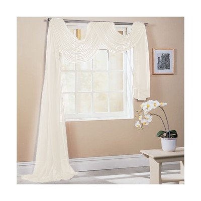 TAILORED READY MADE VOILE WINDOW...