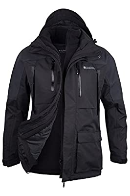 Mountain Warehouse KORRESPONDENT EXTREME 3-in-1 wasserdichte Herrenjacke von Mountain Warehouse bei Outdoor Shop