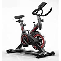 Indoor Cycling Bike Spinning Bike, Ultra Quiet Fitness Bike and Abdominal Trainer, Speedbike with Low Noise Belt Drive System, Home Bicycle Sports Fitness Equipment Cardio Trainer
