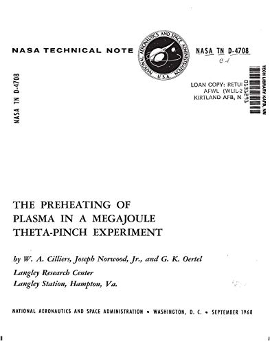 The preheating of plasma in a megajoule theta-pinch experiment (English Edition)