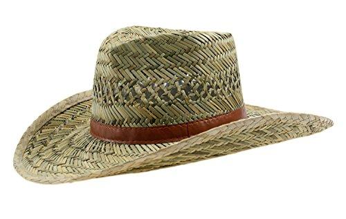 Cowboyhut Unisex 100{18c458043d6927f2b79623efdaae6eb6f1895a335bb765f08f291da310fa3703} Stroh Australier (58)