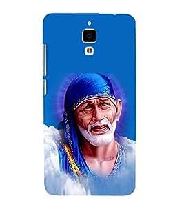 Sai Baba Sai Ram 3D Hard Polycarbonate Designer Back Case Cover for Xiaomi Redmi Mi 4 :: Redmi Mi 4