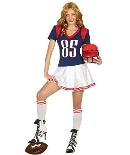 Dondisfraz Disfraz de Jugadora de Rugby para Mujer M/L