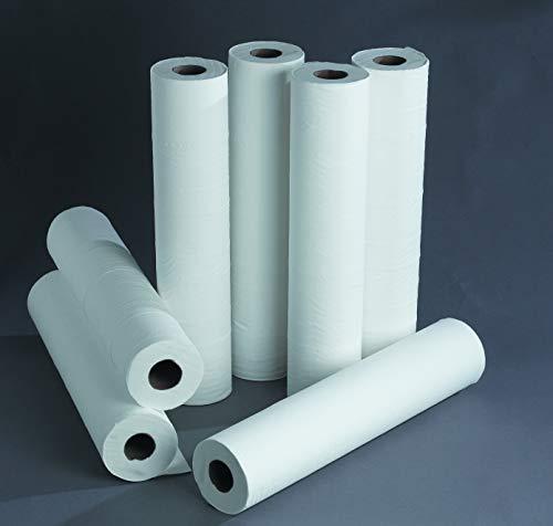 Patterson Medical Physio Med Papierrolle für Behandlungsliegen, 40m lang, Weiß, 12er-Pack