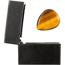 Tiger Tones TGB1 APRETADO - Púa en el ojo de tigre, en una caja de regalo, Oro