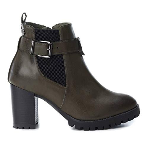 XTI Chelsea Stiefel, Khaki, Kaki - Größe: 39 EU